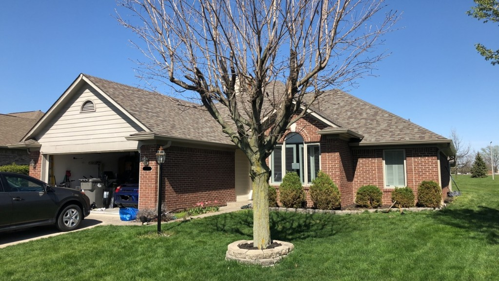 After Restoration - Roofing in Indianapolis